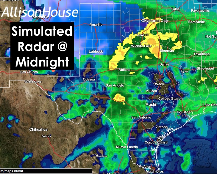 Midnight Sim Radar