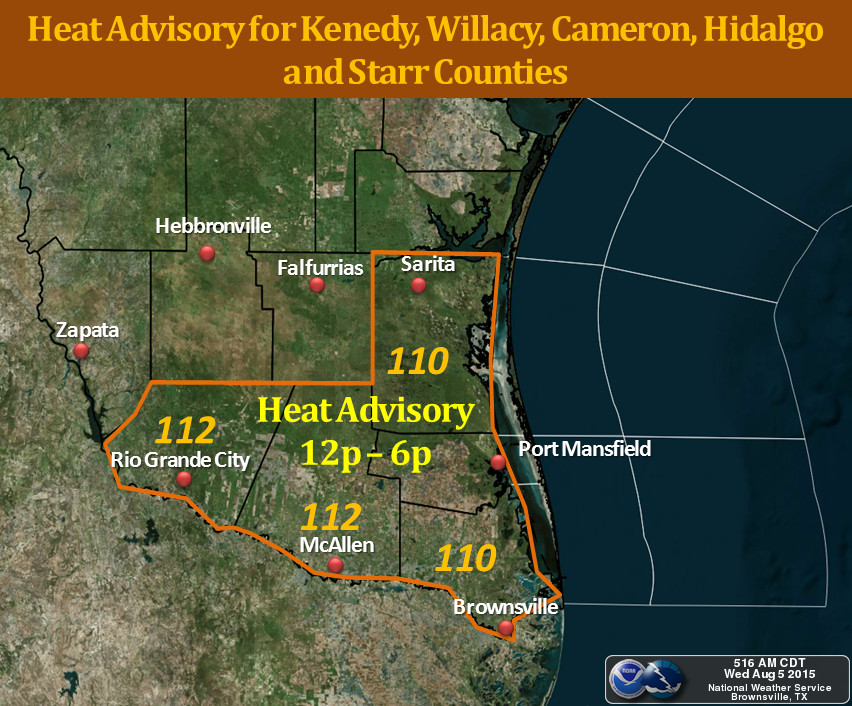 South TX noon to 6pm today
