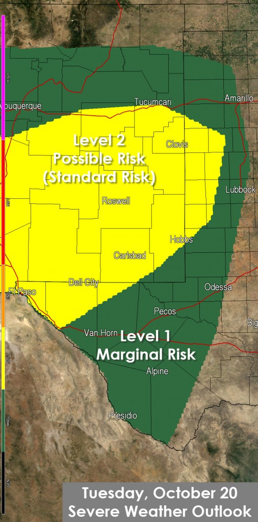 Severe Weather Outlook for Today