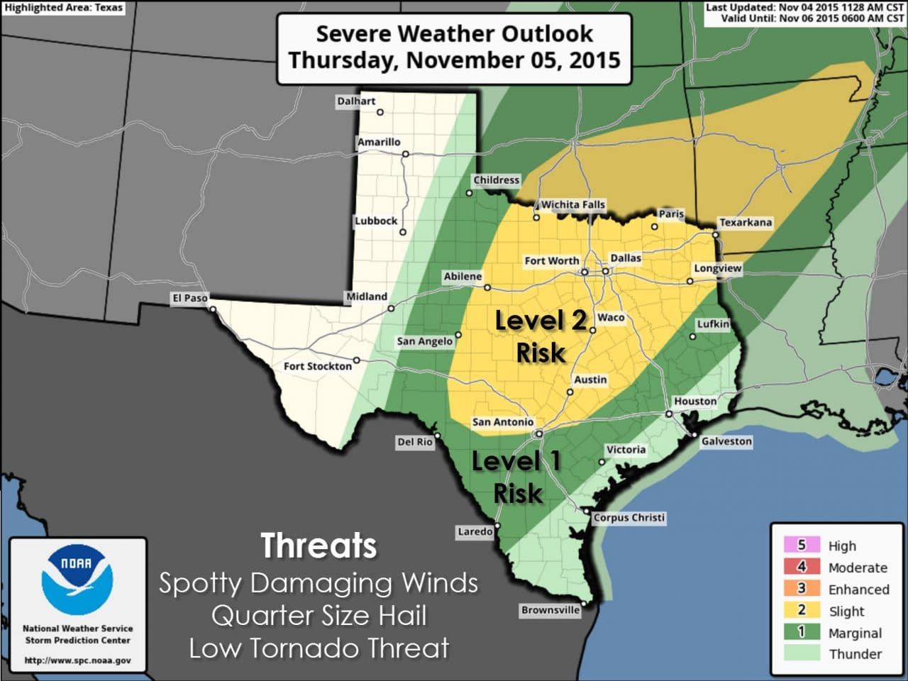 Why the Tornado Risk for Thursday is Low