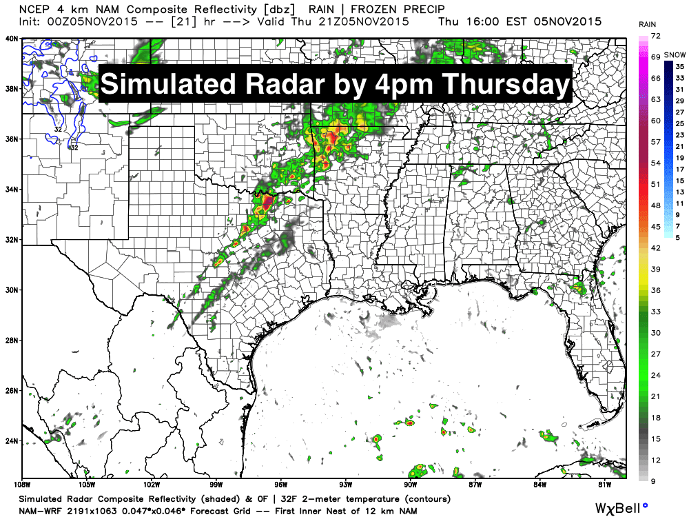 Rain Chances Increase – Severe Weather Threat Tomorrow – Then Much Cooler!