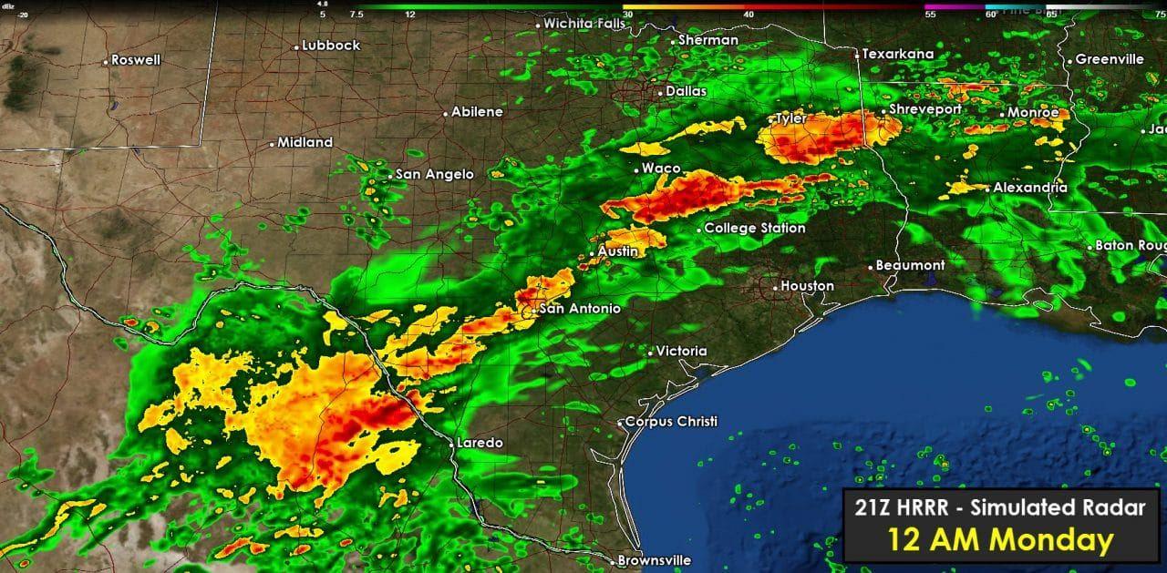 Rain will increase in coverage & intensity tonight