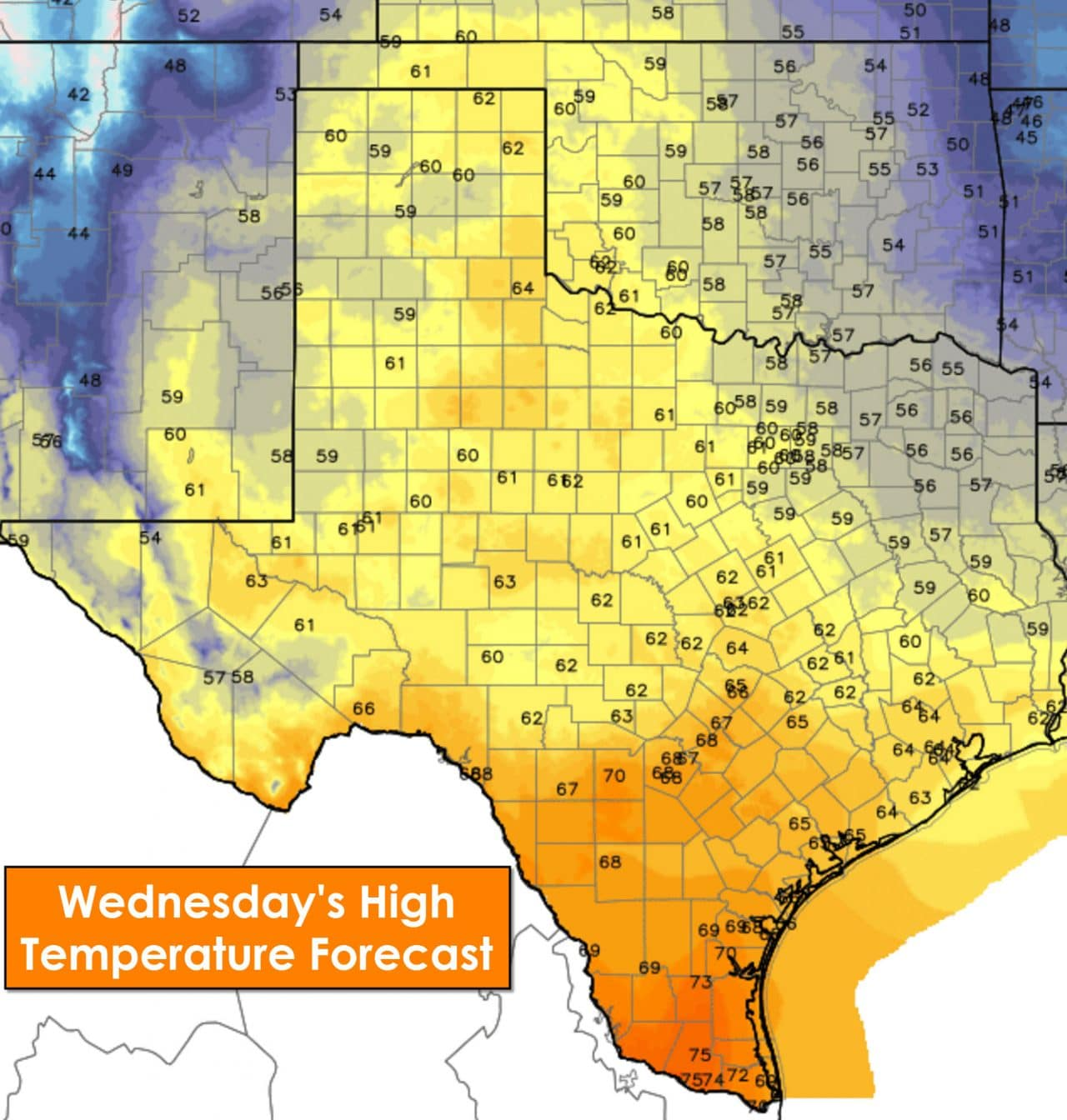 Sunny Skies & Breezy Today with Seasonal Temperatures