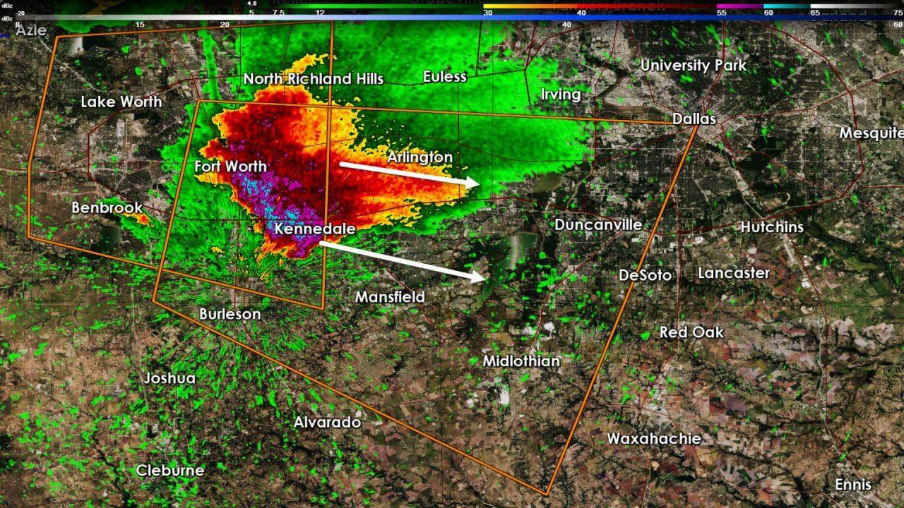 Severe Thunderstorm Warning: Tarrant, Johnson, Dallas, Ellis Counties till 5:30 AM