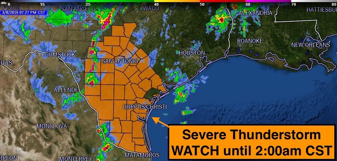 Severe TS Watch