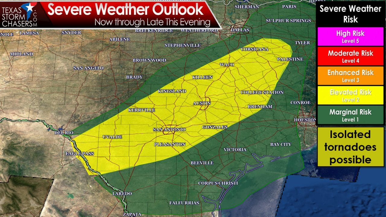 Noon Tornado and Flooding Risk Update
