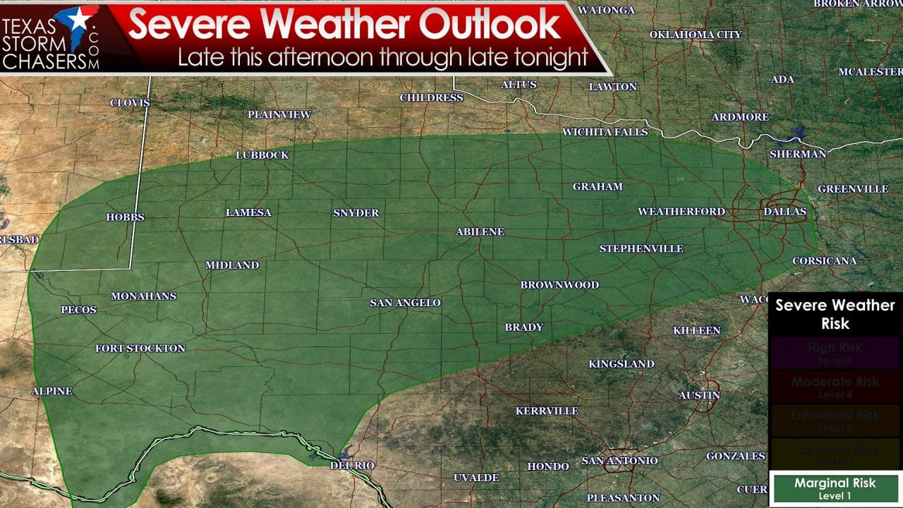 More Storms Later Today & Tonight; Some may be severe