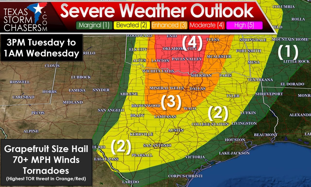 Severe Weather Event Tomorrow and Tomorrow Night