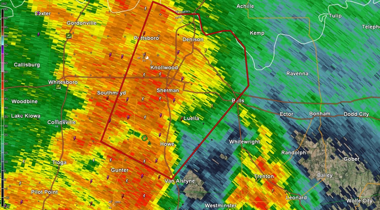 Tornado Warning: Grayson County till 1030PM