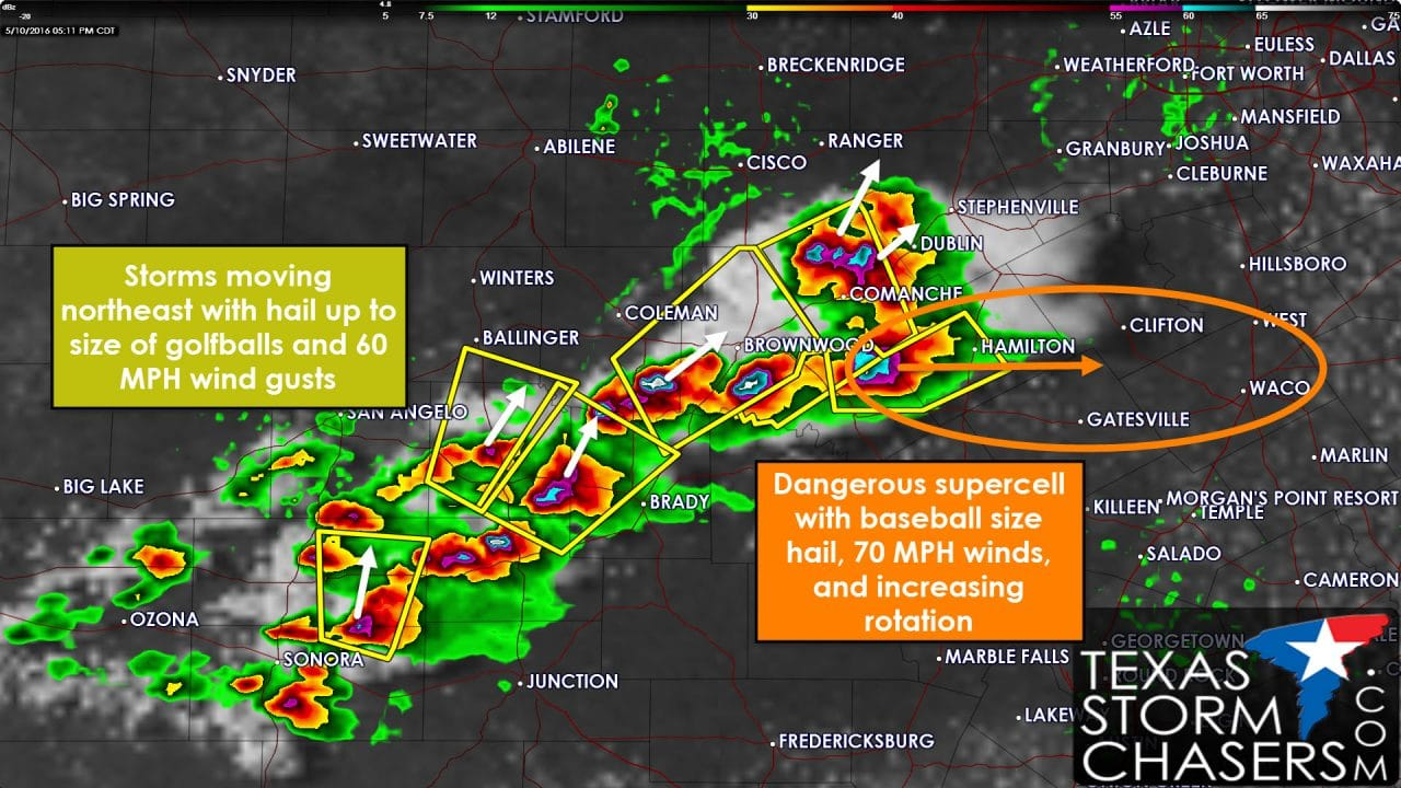 5:15 PM Severe Weather Update