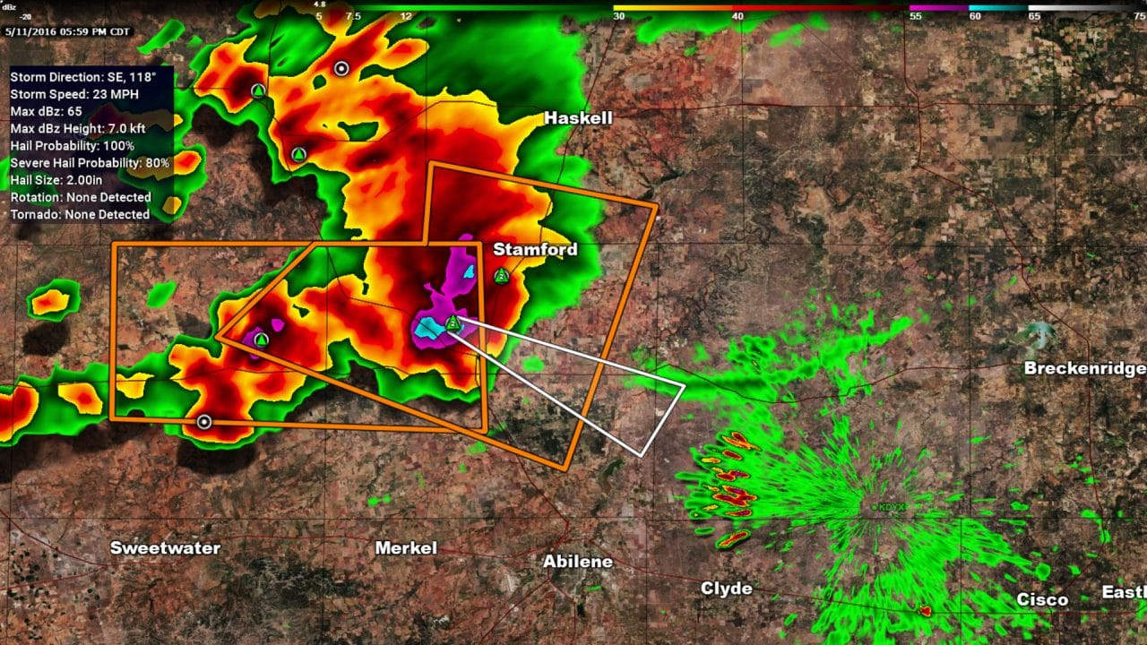 6PM Severe Weather Update for Big Country & North Texas