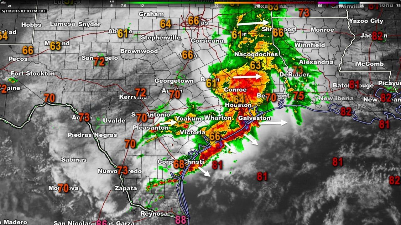 3:15 PM Severe Weather & Precipitation Update