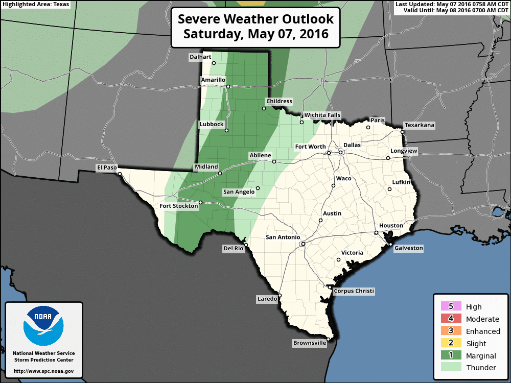 Update on the Severe Weather Potential for Today and Sunday