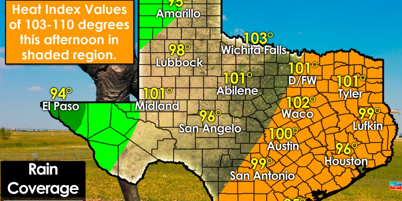 Heat advisories expanding with no cool-off in sight