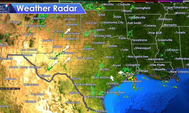 Scattered to Numerous Afternoon Storm Chances Spread East Today