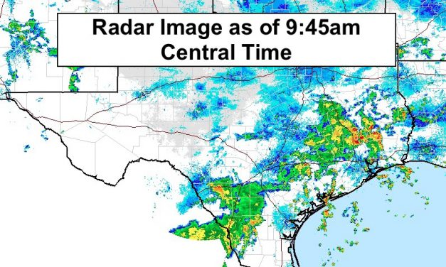 Heavy Rainfall Threat Continues For South Central TX Today
