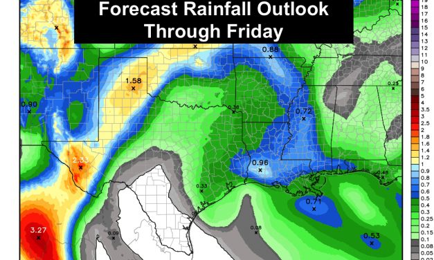 Rain Shifts West This Week