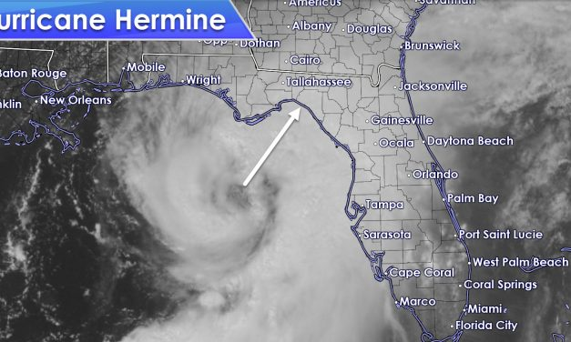 Hermine becomes a Hurricane as it bears down on Northwest Florida