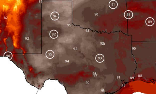 Record Heat Continues; Big Cooldown for ALL of Texas by Friday