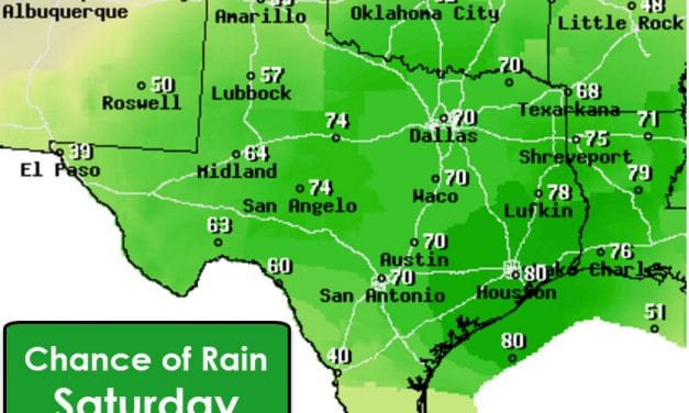 Wet and Chilly Weekend Ahead