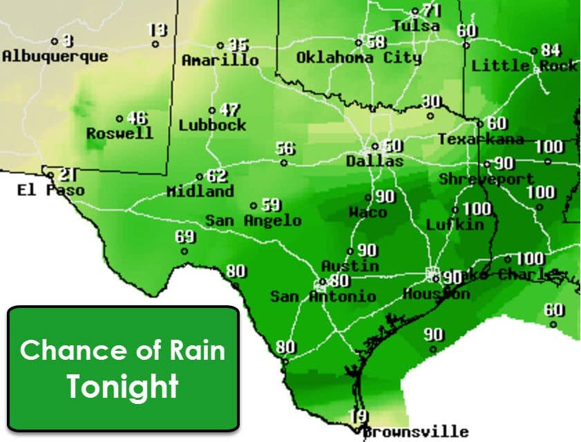 Stratiform Rain Continuing Through Sunday; Flooding Possible in South/Southeast TX
