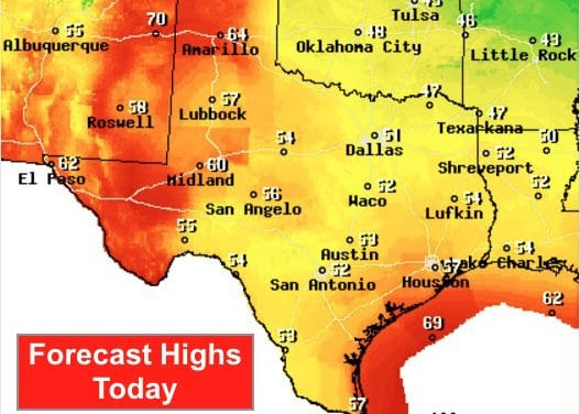 Nice Warm-Up This Weekend – Another Cold Front Mid-Week