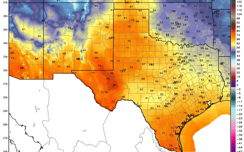 Spring Temperatures Returns Tomorrow