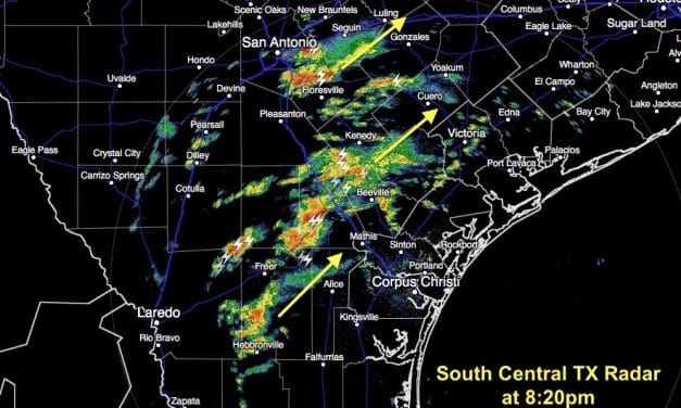 Strong Storms Possible Tonight Across the Coastal Plains