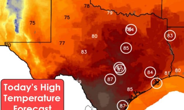 Record Heat with 80s/90s & Very High Fire Danger This Afternoon