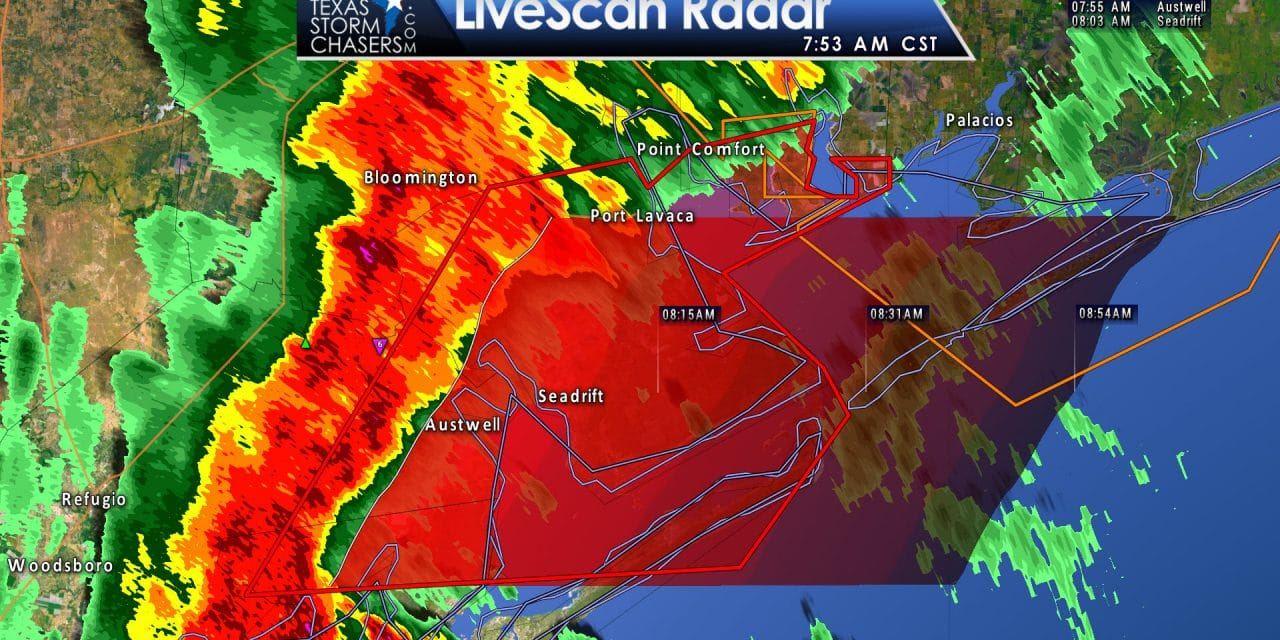 Tornado Warning; Calhoun, Aransas, Refugio Counties till 815AM