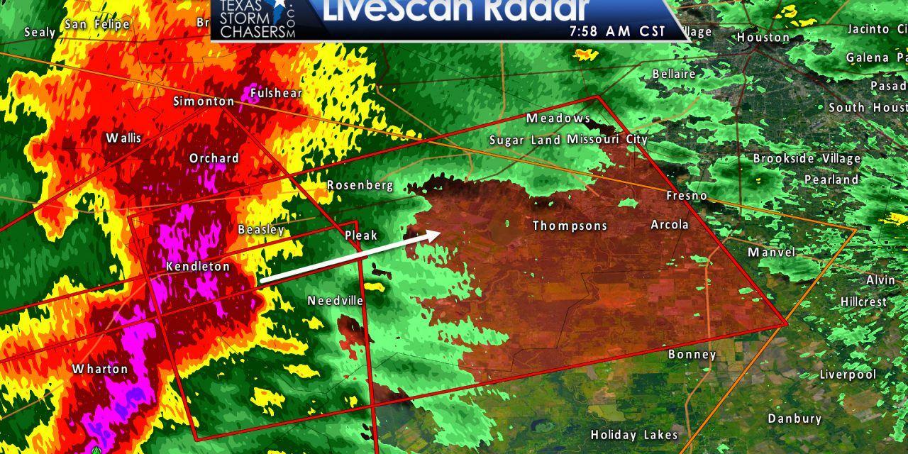 Tornado Warning: Wharton, Brazoria, Harris, Fort Bend Counties till 845AM