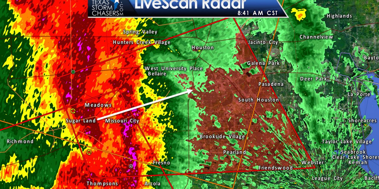 Tornado Warning: Galveston, Harris, Brazoria, Fort Bend Counties till 915AM