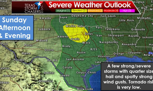 Abnormally Warm Today – Severe Weather Possible Sunday