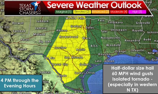 Sunday Mid-Afternoon Severe Weather Update