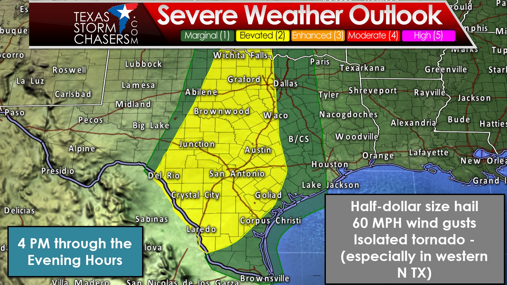Weather Map North Texas.Sunday Mid Afternoon Severe Weather Update Texas Storm Chasers