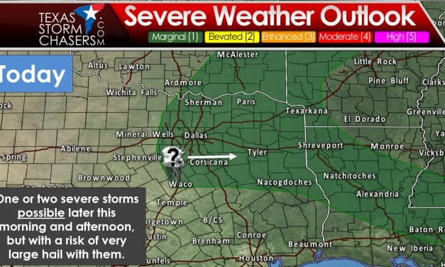 Isolated Severe Storms Possible Today & Tuesday; High-End Fire Danger in the West