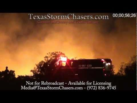 July 21, 2011 – Cleburne, Texas Wildfire