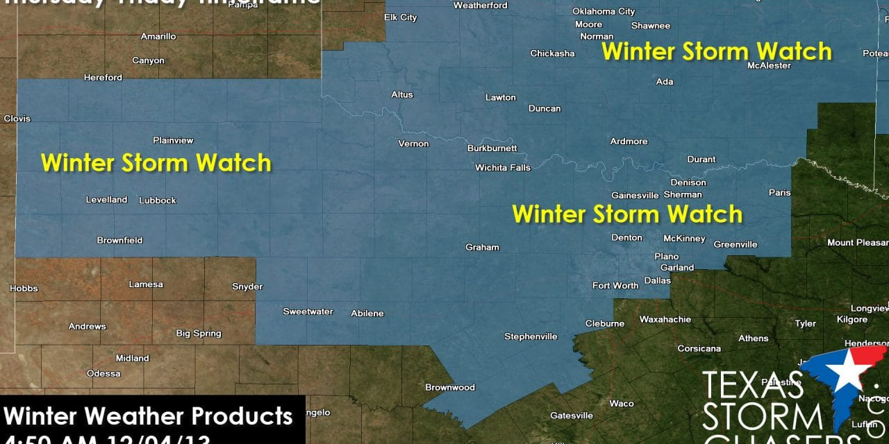 5 AM: Morning Winter Storm Forecast Update