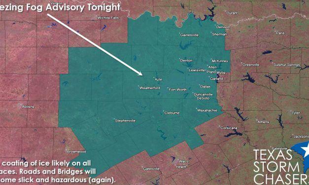 Freezing Fog Advisory Issued for North Texas Tonight