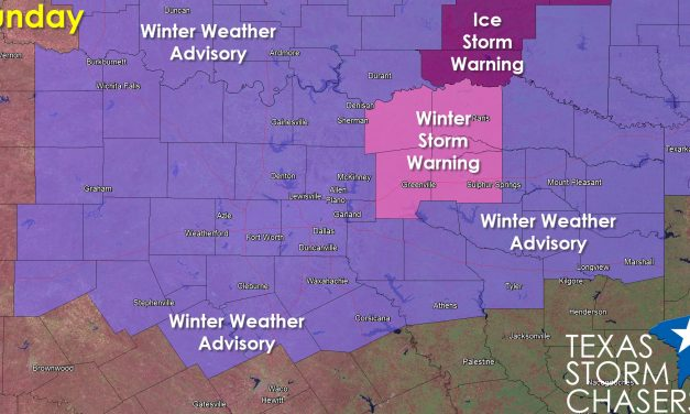 Winter Storm Warning Issued for Some NE TX Counties