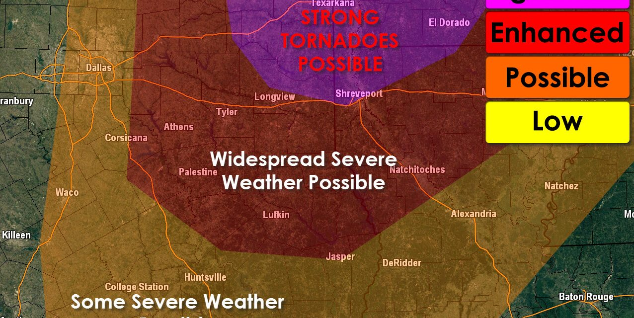 Significant Severe Weather Outbreak Expected on Sunday