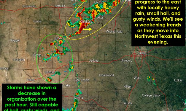8:45 PM Texas Weather Update & Evening Forecast