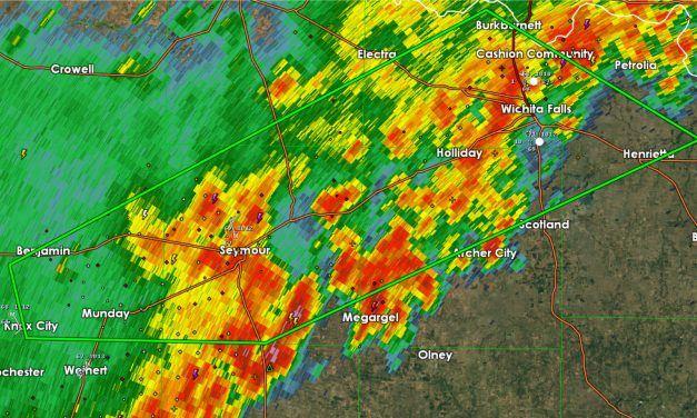 Flash Flood Warning for Wichita Falls + Surrounding Communties