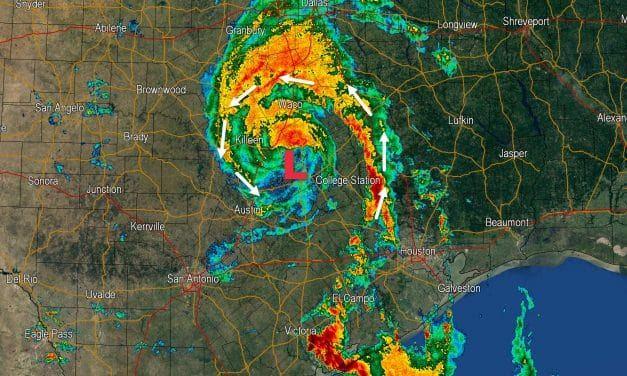 4 AM Texas Weather Update