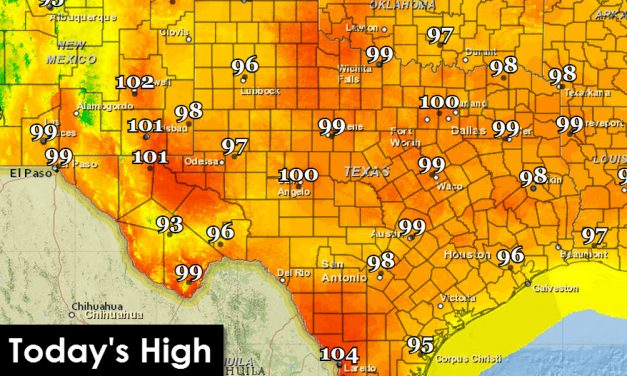 Toasty Forecast Before Cool Front Late Next Week