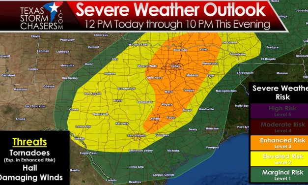 Enhanced Risk of Severe Weather & Tornadoes This Afternoon