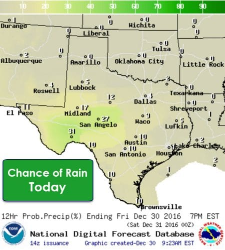 Unsettled and Warm Weather into the New Year