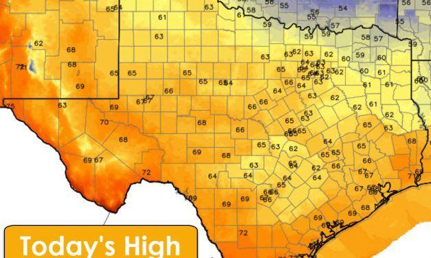 Relatively Benign Weather through Friday