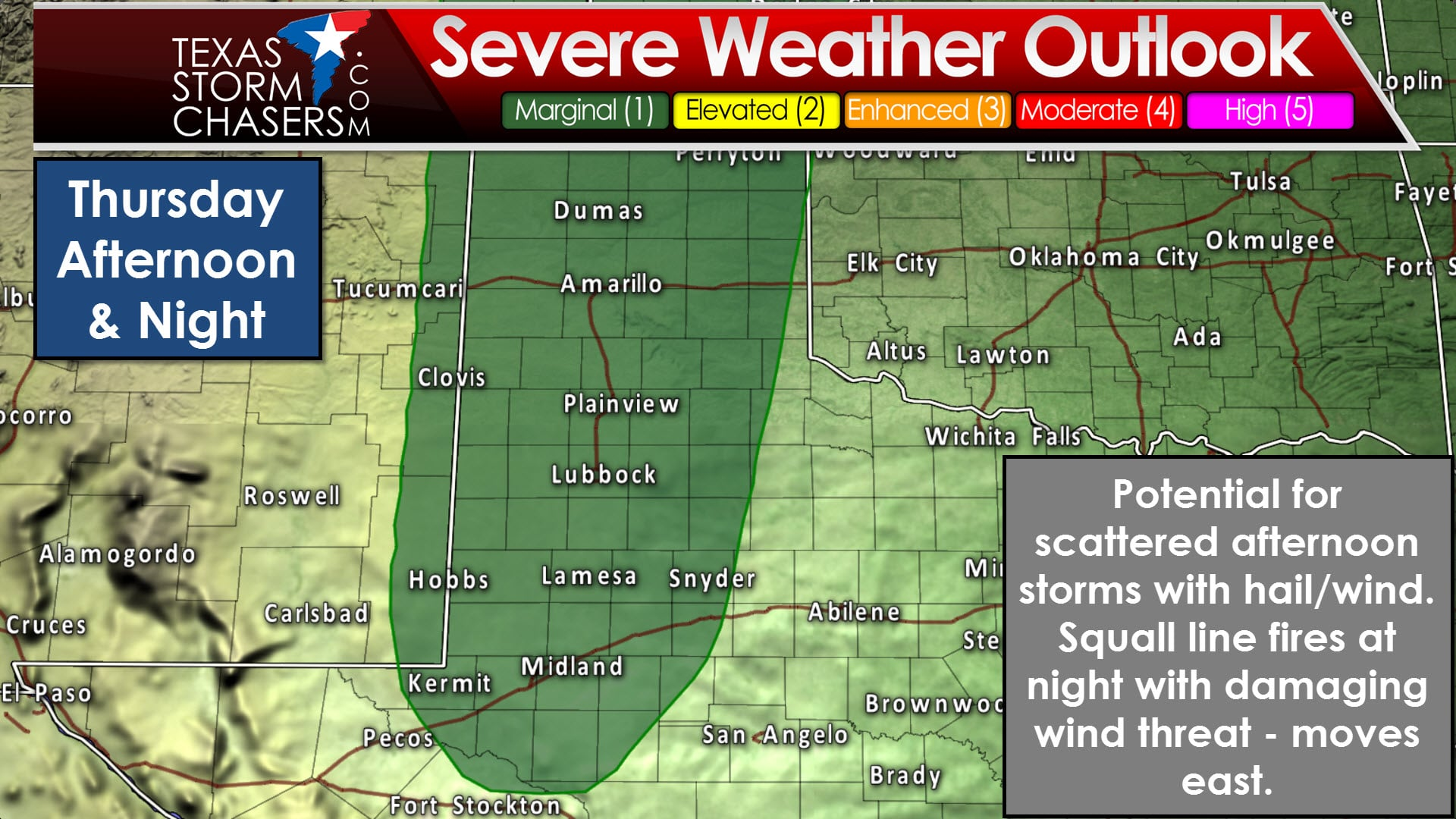 strong thunderstorms possible thursday and friday texas storm the storm prediction center has placed a category one marginal risk of severe weather across much of the texas panhandle west texas and permian basin
