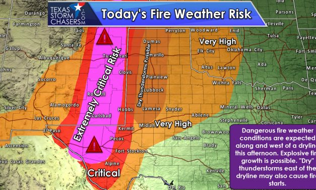 Flaming Tumbleweeds and Severe Weather Concerns Today and Tomorrow